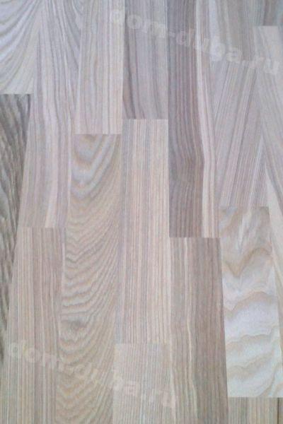 мебельный щит из ясеня – 20 мм, сращенный, сорт САВ