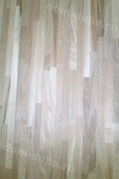 мебельный щит из дуба – сращенный, сорт САВ, толщина 40 мм – сторона В