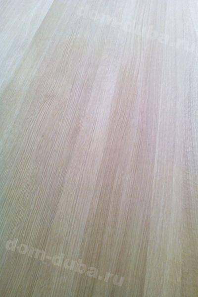 мебельный щит из дуба цельноламельный – радиальный распил — сторона А