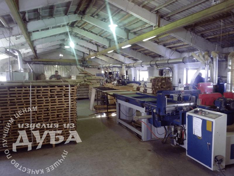 производство дубового щита