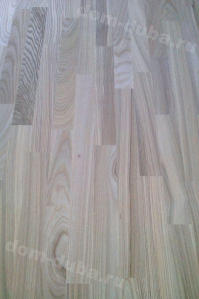 мебельный щит из ясеня – 40 мм, сращенный, сорт САВ