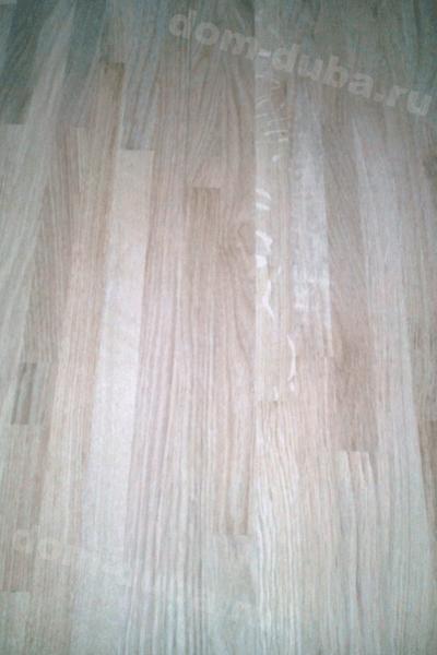 мебельный щит из дуба – сращенный, сорт САВ, толщина 40 мм – сторона А